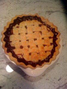 Bubbling Birthday Pie