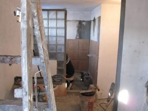 Bedroom and Shower Contruction