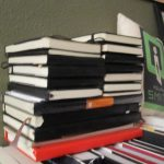 Stack of Moleskines